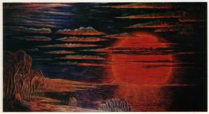 001-big-red-sun-planet